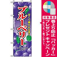 のぼり旗 (2789) ブルーベリー 甘くて爽やかな香り [プレゼント付]