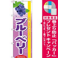 のぼり旗 (7973) 旬ブルーベリー [プレゼント付]