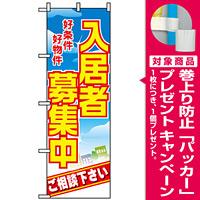 のぼり旗 (8234) 入居者募集中 好条件好物件 [プレゼント付]