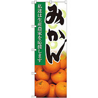 のぼり旗 みかん 写真 (21937)