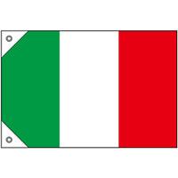 販促用国旗 イタリア サイズ:ミニ (23652)
