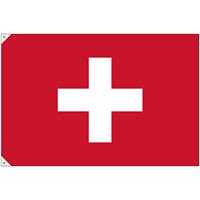 販促用国旗 スイス サイズ:大 (23666)