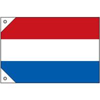 販促用国旗 オランダ サイズ:ミニ (23667)