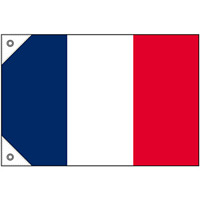 販促用国旗 フランス サイズ:ミニ (23673)