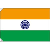 販促用国旗 インド サイズ:小 (23677)