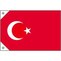 販促用国旗 トルコ サイズ:ミニ (23682)