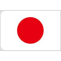 販促用国旗 日本 サイズ:大 (23690)