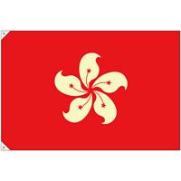 販促用国旗 香港 サイズ:大 (23699)