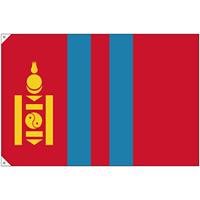販促用国旗 モンゴル サイズ:大 (23705)