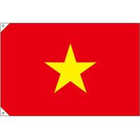 販促用国旗 ベトナム サイズ:小 (23710)