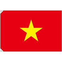 販促用国旗 ベトナム サイズ:大 (23711)
