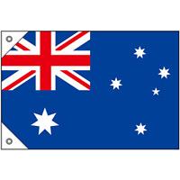 販促用国旗 オーストラリア サイズ:ミニ (23721)