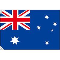 販促用国旗 オーストラリア サイズ:小 (23722)