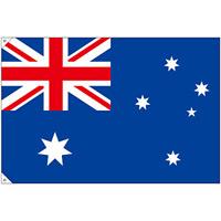 販促用国旗 オーストラリア サイズ:大 (23723)