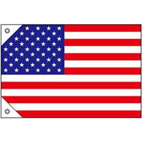 販促用国旗 アメリカ サイズ:ミニ (23724)