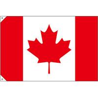販促用国旗 カナダ サイズ:小 (23728)