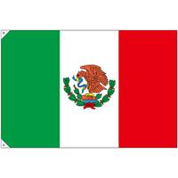 販促用国旗 メキシコ サイズ:大 (23732)