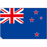 販促用国旗 ニュージーランド サイズ:大 (23741)