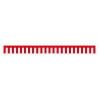 紅白幕 トロピカル 高さ450mm×3間(幅5400mm)(23934)
