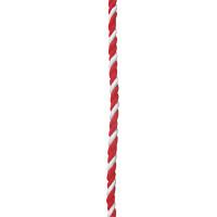 紅白幕紐 紐 6mm径 3間用(6.4m)(23950)