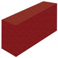テーブルカバー 花柄レッド サイズ:W1800×H700×D450 (61491)