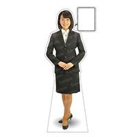 等身大パネル 女性制服(上着着用) モデル野原奈々 ポーズ:正面 (62363)