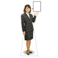 等身大パネル 女性制服(上着着用) モデル野原奈々 ポーズ:右向き (62364)