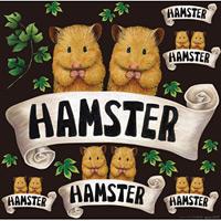 ハムスター 看板・ボード用イラストシール