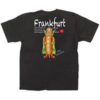 黒Tシャツ フランクフルト キャラクター サイズ:S (64156)