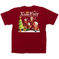 赤Tシャツ XmasFair キャラクター サイズ:M (64777)