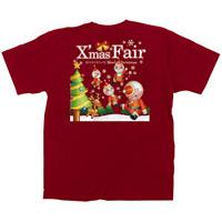 赤Tシャツ XmasFair キャラクター サイズ:XL (64779)