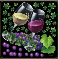 ワイン ボード用イラストシール (68564)