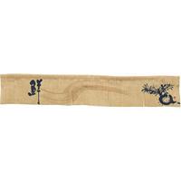 【新商品】エステル麻のれん かぶ 5巾ショート (68975)