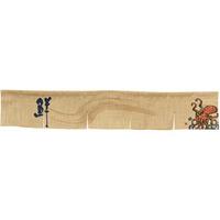 【新商品】エステル麻のれん たこ 5巾ショート (68979)