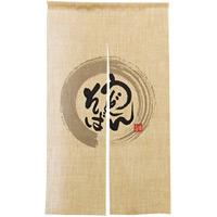 【新商品】エステル麻のれん うどんそば 半間 (69238)