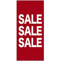フルカラー店頭幕(懸垂幕) SALE SALE SALE 素材:ポンジ (69549)