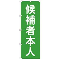 選挙のぼり旗 候補者本人 (GNB-1919)