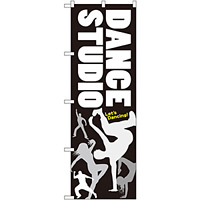 のぼり旗 DANCE STUDIO (GNB-2113)