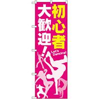 のぼり旗 初心者 大歓迎! (GNB-2116)