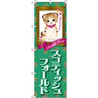 のぼり旗 スコティッシュフォールド (GNB-2444)
