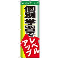 のぼり旗 個別学習でレベルアップ (GNB-66)