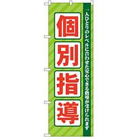 のぼり旗 個別指導 グリーン (GNB-67)