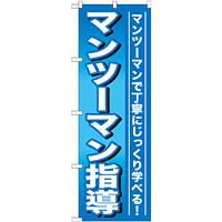 のぼり旗 マンツーマン指導 (GNB-759)
