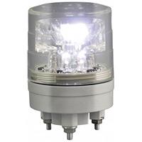 超小型LED回転灯 ニコミニ・スリム Φ45 白 規格:3点留 (VL04S-024AWC)