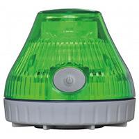 携帯型LED回転灯 ニコPOT カラー:緑 (VL08B-003DG)