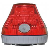 携帯型LED回転灯 ニコPOT カラー:赤 (VL08B-003DR)