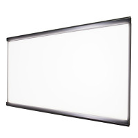 LEDスリム ツーオープン 屋内用  通常タイプ ブラック 1000×500 (LEDSLIM2OPEN-BGB-1000500Y)