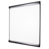 LEDスリム ツーオープン 屋内用  通常タイプ シルバー 500×500 (LEDSLIM2OPEN-KCC-500500)