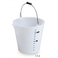 清掃用品 じょうぶバケツ 容量:14L (CE-448-014-0)