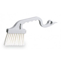 清掃用品 ニューカラーシリーズ 窓掃除用 MMサッシブラシS (CE-895-100-0)